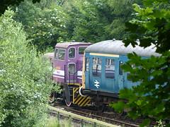 East Kent Railway Revisited (9) - 22 June 2016 (John Oram) Tags: vanguard dlo shunter shepherdswell class108 eastkentrailway 01543 m51562 defencelogisticsorganisation thomashillrotherham 2002p1110178