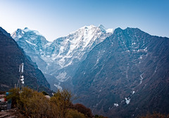 Scenic mountains near Tengboche in the way to Everest base camp, Everest region, Nepal (CamelKW) Tags: nepal mountains scenic 2016 tengboche everestbasecamp everestregion everestpanoram