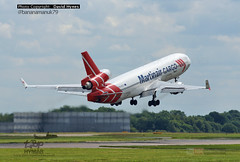 Martinair PH-MCP MD-11 Final Departure 27 June 2016 (bananamanuk79) Tags: travel london transport jet aeroplane cargo planes douglas triple runway stansted spotting md11 londonstansted avation martinair mcdonnelldouglas trijet planespotting stanstedairport aicraft spotter lastflight avgeek transprot finalflight mcdonnelldouglasmd11 phmcp londonstanstedairport