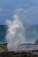 SpoutHorn3Jun16-16 (divindk) Tags: hawaii hawaiianislands kauai beach blowhole marine ocean sea spout spoutinghorn surf