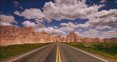 ..Into the Badlands.. (Ravisankar RP) Tags: road usa southdakota landscape nikon sd badlands cpl badlandsnationalpark d600 gnd ravisankar tokina1735f4
