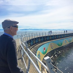 Pretty spry for a 90 year old guy ;) This week of adventuring has been spent exploring #victoria with my grandfather. Activities include: walking the breakwater, attending a rotary club meeting, and lots of Tim Hortons coffee. Ha! @timhortons #canada #fam (ClevrCat) Tags: old family vacation canada guy beach coffee club walking for this tim pretty with exploring year grandfather meeting victoria been vancouverisland week ha 90 has lots hortons timhortons rotary include spent activities breakwater dallasroad adventuring spry attending instagram ifttt