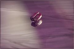 the bean (LavenderMillie) Tags: reflection coffee overlay bean coffeebean
