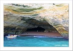 Cueva de Benagil - El Algarve - Portugal (Lourdes S.C.) Tags: costa portugal barcos playa cueva elalgarve