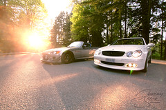 Honda S2000 and Mercedes CLK (Jeremy Smolik | Photography) Tags: cat honda mercedes ghost ss wheels review resonator rider act s2000 authentic amg vmr brabus tein coilovers camber clk oem muteki ingall