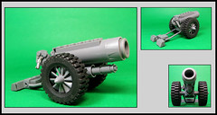 The Studly Howitzer (Karf Oohlu) Tags: gun lego weapon cannon moc howitzer militaryhardware