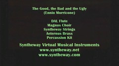 The Good, the Bad and the Ugly (Ennio Morricone) Syntheway Strings, Magnus Choir, DAL Flute, Aeternus Brass, Harmodion and Percussion Kit virtual instruments (Windows, Mac OS X) (Syntheway) Tags: windows apple choir digital mac bass guitar good percussion library au bongo bad free trumpet flute double player full cover violin cello software ugly western download sample contrabass conga singers strings trombone kit tune spaghetti sonar macosx midi tuba brass viola ensemble magnus frenchhorn soundtrack whistle clinteastwood synthesizer garageband harmonica sf2 sergioleone enniomorricone logic choral flugelhorn frenchhorns leevancleef cornet cubase thegoodthebadandtheugly exs vst flstudio kontakt audiounit vsti nki eliwallach exs24 soundfont syntheway harmodion daniellaiseca magnuschoir