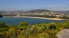 Playa de Cabanas y desembocadura del Ro Eume. (lumog37) Tags: seascape beach marina landscape playa paisaje estuary rivers ros ra costadegalicia