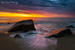 Sea Song (Chase Schiefer) Tags: art beach sunrise landscape photography newjersey nikon rocks surf waves awesome sandy fine nj vivid surfing shore jersey hook jerseyshore spic d600 gatewaynationalrecreationarea sandyhooknewjersey hooknj chaseschieferphotography