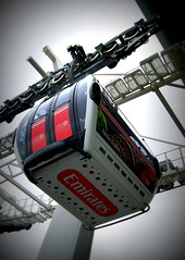 Emirates Air Line Royal Victoria Dock (chrisbell50000) Tags: hello india london car lomo dock air royal cable victoria line emirates airline cablecar gondola chrisbellphotocom