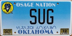 Osage Nation Personalized Flat License Plate (Suko's License Plates) Tags: plaque native indian vanity nation band plate tribal licenseplate license tribe placa personalized patente osage targa matricula kennzeichen targhe numbertag nummerschild nativeamericanindians plaqueimmatriculation triballicenseplates indiantribeslicenseplates