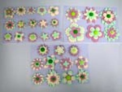Flowers shape No.1 size 3-5 cm (sweetinspirationsaustralia) Tags: cupcaketoppers