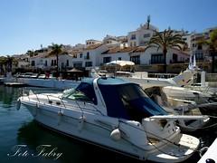 Puerto Banus (Vitafabrizio64) Tags: puerto mare yacht samsung case porto cielo palme spagna banus