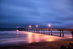 Slate (eCHstigma) Tags: ocean california longexposure seascape beach architecture zeiss landscape coast pier nikon waves pacifica distagon d600 25mmf2 distagont225