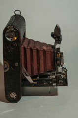Sideview (johnfuj) Tags: camera kodak antique tools bellows tool folding rollfilm generalequipment
