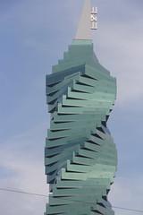 F&F Tower, Ciudad de Panam (twiga_swala) Tags: city building tower architecture america skyscraper office torre district central ciudad revolution highrise panama twister financial twisted ff tornillo rascacielos financiero distrito centroamrica