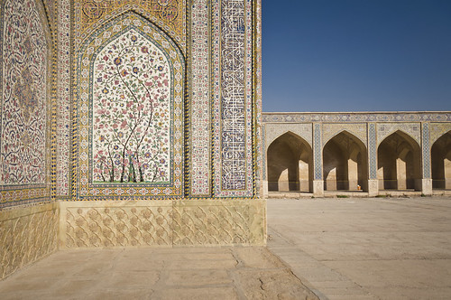 A Mosque in Shiraz