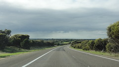 2013 Melbourne/Geelong Tour - Day 1 (RS 1990) Tags: road trip sunset vacation sky holiday signs june rural lights afternoon tour traffic farm country hamilton 21st melbourne victoria signals day1 adelaide friday pylons southaustralia mitsubishi geelong naracoorte verada 2013