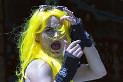 Dick Tracey's girlfriend (Hammerin Man) Tags: seattle gaypride marvelcomics 2013 dicktracey