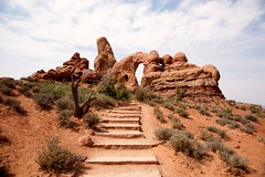 Arches National Park (Vironevaeh) Tags: red west nature nationalpark rocks desert arches american moab americanwest