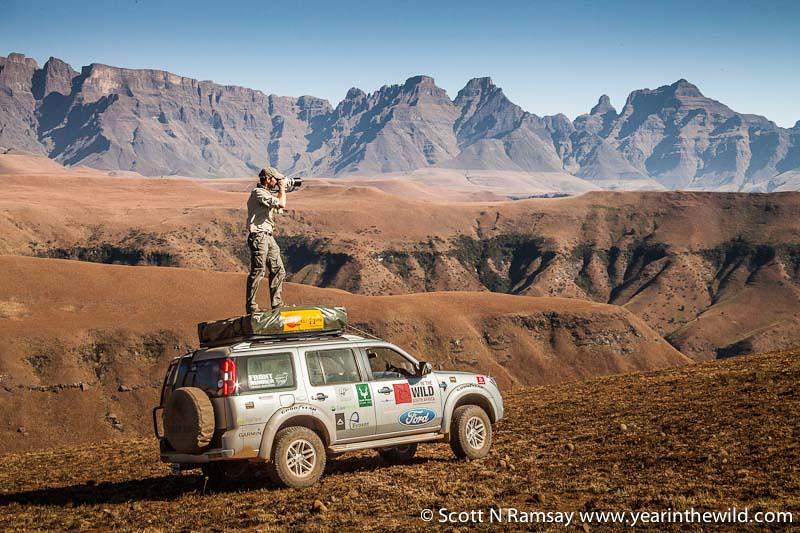 uKhahlamba-Drakensberg - copyright Scott Ramsay - www.yearinthewild.com-5