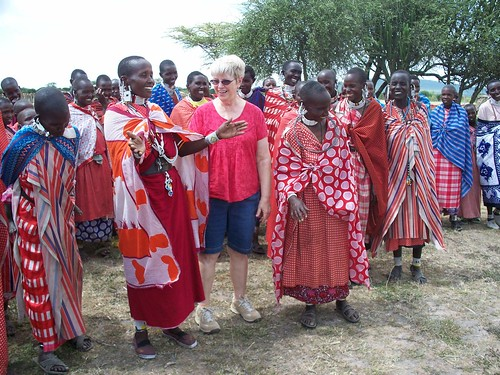 Visiting the Maasai in the East Serengeti