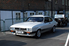 A27LDG 1984 2000cc Ford Capri Coupe (Pete Edgeler) Tags: ford capri classiccar 1984 coupe amberley amberleymuseum 2000cc amberleymuseumandheritagecentre a27ldg