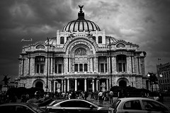 Bellas Artes (Francisco Zarabozo Pineda) Tags: blackandwhite monument beautiful landscape mexico photography nice bellasartes great like follow hd share buiding nikond3200 addme likeforlike