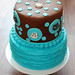 """Two-tier Cat Cake • <a style=""""font-size:0.8em;"""" href=""""https://www.flickr.com/photos/68052606@N00/9697219685/"""" target=""""_blank"""">View on Flickr</a>"""