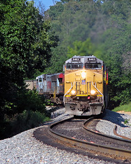 UP 6463 near Siloam Springs, AR (nsmith8853- I'm tired of shootings GE's!) Tags: city railroad up train pacific union railway trains southern springs kansas arkansas coal railfan kcs siloam