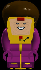M.O.D.O.K. (Evan (911Bug911)) Tags: red brown black yellow mobile for purple lego killing bad super only disgusting heroes marvel villain heros mental designed modok organism mechanized
