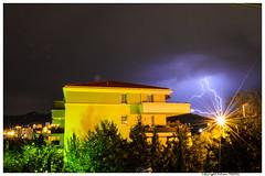 Eclair - Orage - Marseille (Fabien TEBOUL) Tags: lighting light sky nikon flash pluie ciel eclair orage lightstorm d5200