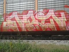 Enron VTS (SounderSix) Tags: train graffiti graff freight enron vts autoracks