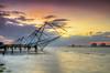 Chinese fishing nets (anishsid) Tags: fishing nikon kerala cochin kochi chinesefishingnets fortkochi fortcochin 2470f28 gnd 2470mmf28 ndgrad keralatourism leefilters d7000 6gnd 9gnd nikond7000