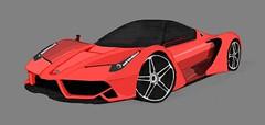 David Williams Enzo Ferrari Concept (T3h guy) Tags: 2 3 david black art cars car race 1 sketch call williams mask duty 4 fast super ferrari masks enzo vehicle ghosts concept cod ops 2012 drift 2014 2013 laferrari