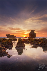 Disguises (Satrya_Budhi) Tags: ocean sunset sea bali sun seascape sunrise indonesia landscape asia
