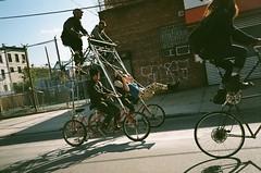 SwingSwing (ericmonasterio) Tags: ny black ian greg label swing 35mmfilm em yashica bikekill greghenderson portercycles
