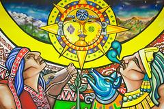 Pueblos Originarios / México (ecos.) Tags: coyote art sol graffiti stencil mural arte ramona condor popular parra colectivo albornoz ecos streer patricio mapuche publico latinoamericano lautaro muralismo brigada araucania nezahualcoyotl cosmovision