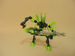 Horse of a Different Color (37) (origamiguy1971) Tags: horse green lady bionicle adrienne moc afol esseltine origamiguy origamiguy1971 affol