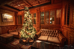 Driskill Hotel Bar Couches at Christmas (Evan Gearing (Evan's Expo)) Tags: christmas tree bar austin nikon texas sigma 1020 couches driskillhotel d300s evangearingphotography evansexpo vision:sky=0584 vision:outdoor=062