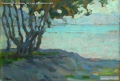 Romualdo Prati Veduta del Lago di Caldonazzo024