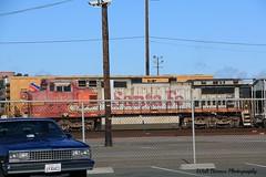 Santa Fe 945 (Walt Barnes) Tags: railroad santafe train canon eos rail railway richmond calif equipment locomotive bnsf atsf warbonnet dieselelectric 60d canoneos60d eos60d wdbones99