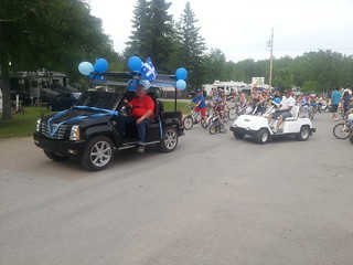Parade de bicyclettes
