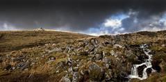 Band of Gold (yadrad) Tags: rocks stream falls granite tor dartmoor dartmoornationalpark blacktor rivermeavy
