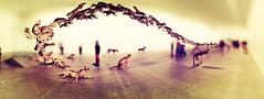 Mind boggling (picsie14) Tags: sculpture art animals interestingness expo brisbane winner wolves intersting headin photooftheday picoftheday bestshot galleryofmodernart interestingness2 bestpic caiguoqiang headon interesting2