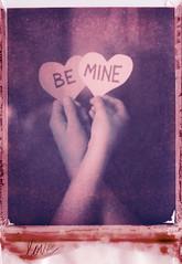 037/365 (mckenziemedia) Tags: pink love vintage project paper hearts polaroid hands day tint valentine type valentines 365 expired valentinesday 195 669 polaroid195 project365 0499 portraitfilter