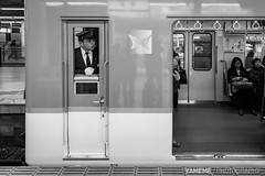 Responsibilities / Kyoto, Japan (yameme) Tags: travel monochrome japan canon eos kyoto   kansai    kyotostation 24105mmlis  5d3 5dmarkiii