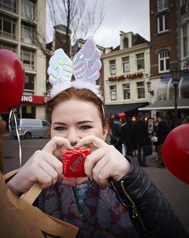 International Condom Day 2014: Amsterdam