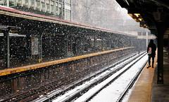 Snow at Prospect Park Station (HorsePunchKid) Tags: gothamist seenongothamist