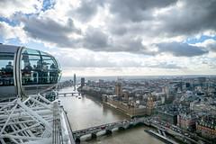 Enjoying the London Eye (Nicoet) Tags: leica london eye westminster thames bigben theeye